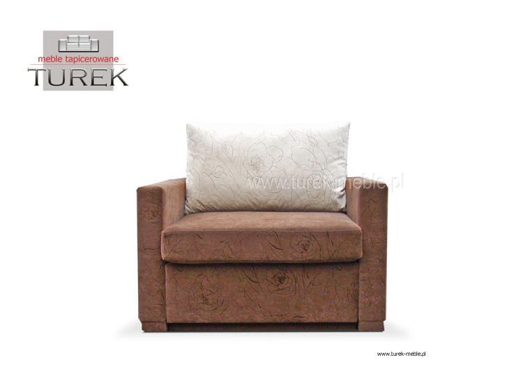Sofa uno meble tapicerowane ze sk ry for Sofa jednoosobowa